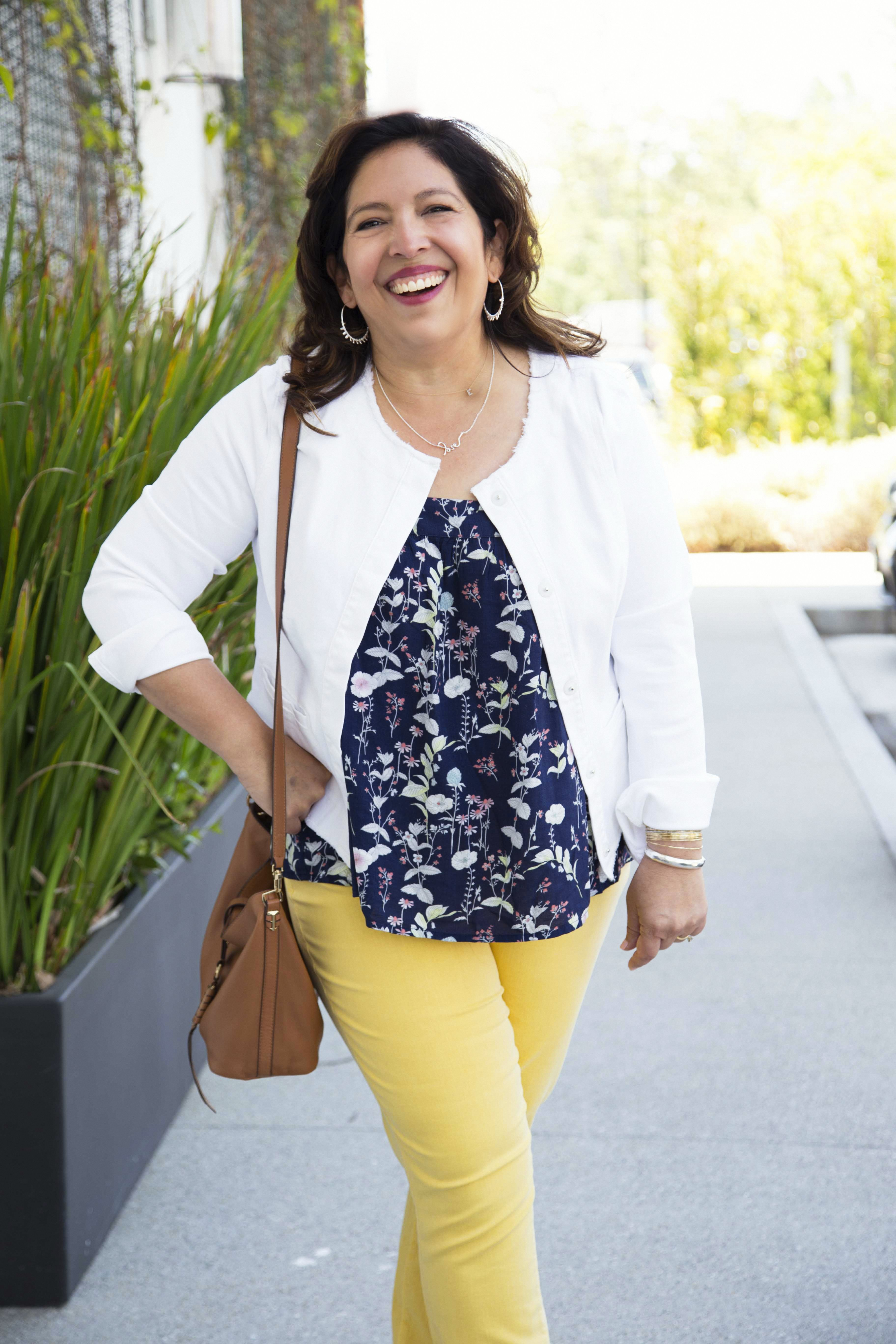Summer Fun with Colored Jeans