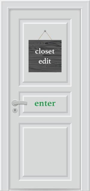 Turnkey Style Closet Edits