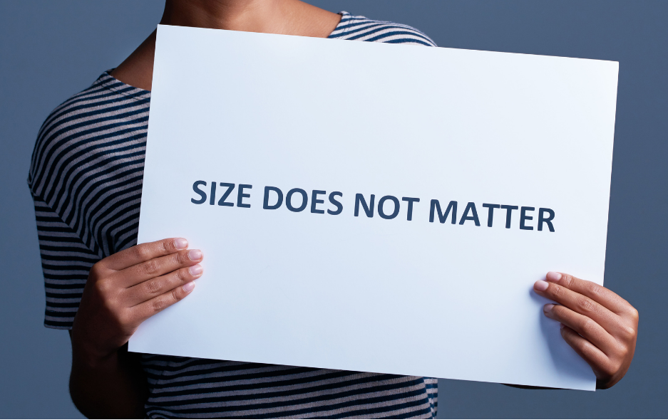 size does not matter